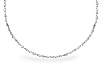 D273-43284: 1.5MM 14KT 20IN GOLD ROPE CHAIN WITH LOBSTER CLASP